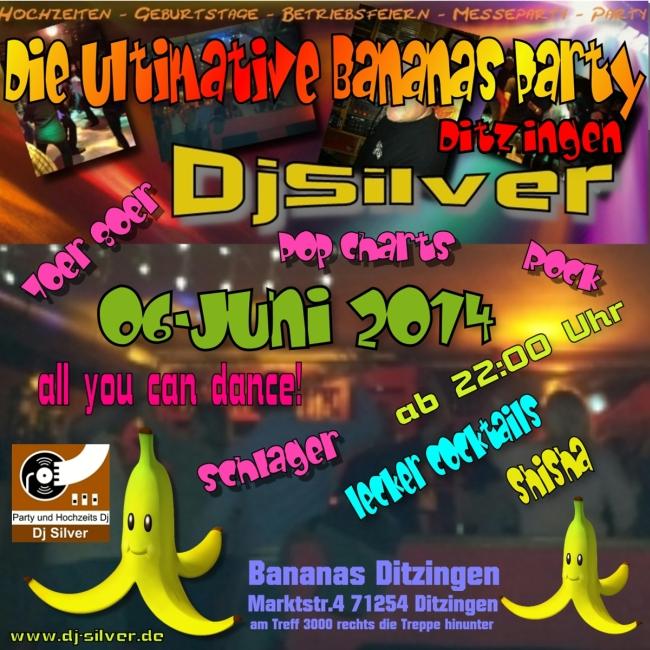 Bananas Party6-6-14