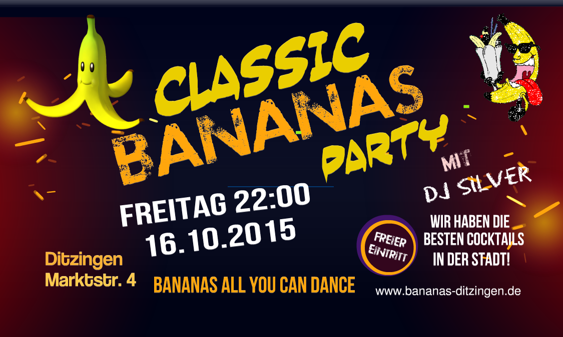 Bananas classic 16-10-15